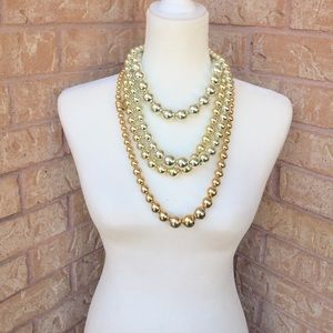 Gold and Silver Necklace Bundle